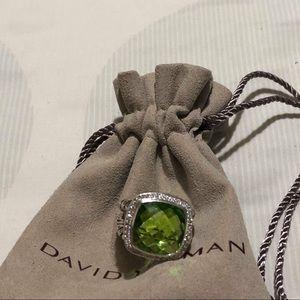 David yurman Albion Ring prasiolite 14mm